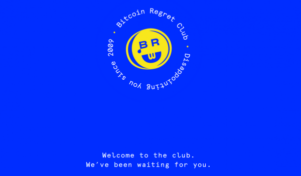 Bitcoin Regret Club - How Much You Missed Out 101