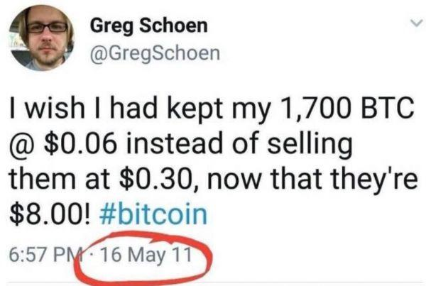 Bitcoin Regret Club - How Much You Missed Out 102