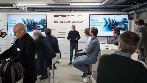 Porsche Tests Blockchain In Vehicles 101