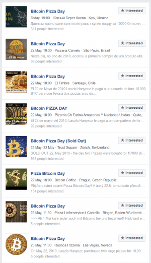 Bitcoin Pizza Day Menu: Jokes, Events, New Products and Kebab 103