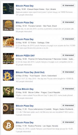 Le menu du jour de la pizza Bitcoin: blagues, événements, nouveaux produits et Kebab 103