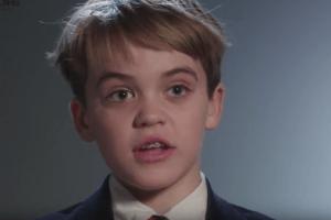 """""""جورج ولكسنر"""" هو طفل يبلغ 11 عاماً"""