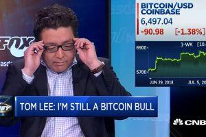 "Tom Lee ""May Have Misspoke a Little Bit"" in Bitcoin Predictions 101"