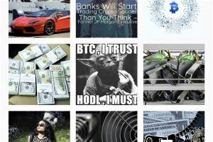 Social Networks and Crypto: The Case of Instagram 101