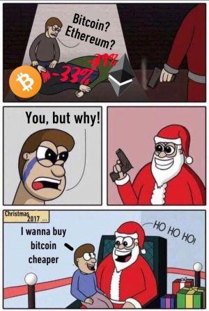 Can We Get a Bull Run for Christmas? No? But 20 Crypto Jokes Are Here 102