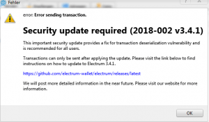 Beware: Electrum Wallets Target of Malicious Attack 102