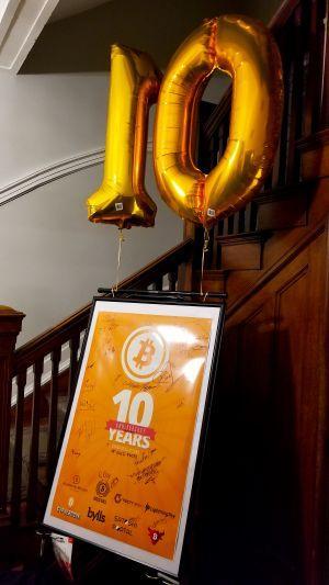 #Bitcoin10ans et lancement de Cyphernode 105