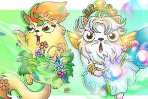 CryptoKitties and Gods Unchained Team Up to Lure Users 101