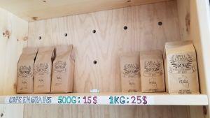 Un premier café canadien accepte SmartCash 105