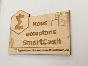 Un premier café canadien accepte SmartCash 106