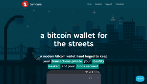 privacy wallet samourai
