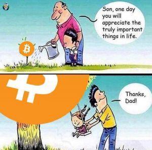 Bitcoins wife jokes bettinger veteasy
