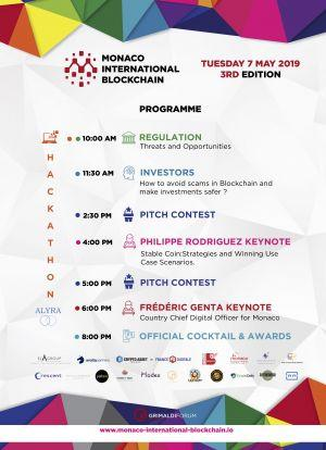Troisième édition du salon international de la blockchain à Monaco (M.I.B.) 101