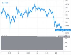 Bitcoin and Altcoins Turn Red, Erase Weekly Gains 101