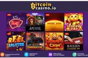 Today, Bitcoincasino.io adds another New Batch of Online Casino Games 101