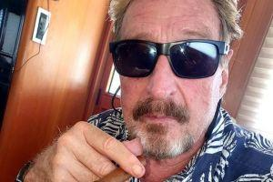 McAfee Allegedly Detained by Authorities 101