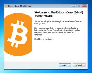 Le logiciel Bitcoin Core