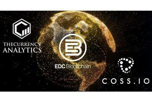 COSS exchange partners with two rising tokens TCAT & EDC 101