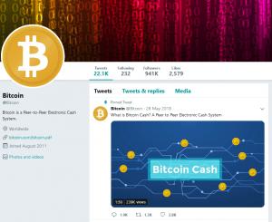 Le populaire Twitter @Bitcoin a-t-il abandonné BCH pour BTC? 102