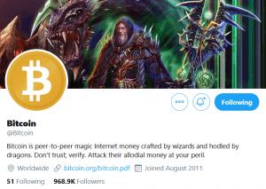 Le populaire Twitter @Bitcoin a-t-il abandonné BCH pour BTC? 103