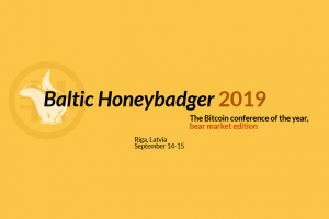 Bitcoin conference Baltic Honeybadger 2019: bear market edition 101