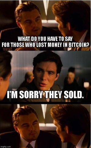 Sold bitcoin