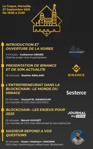 Binance s'associe avec KryptoSphère pour son premier Meetup officiel en France 102
