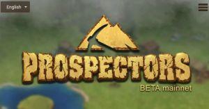 Blockchain games Prospectors