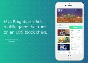 Cryptocurrency games EOS Knights