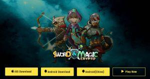 Blockchain and crypto games crypto sword and magic