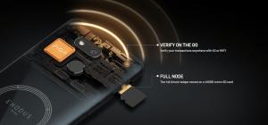 Le téléphone Exodus 1s d'HTC