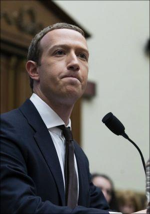 Facebook CEO Mark Zuckerberg defends the Libre before the US Congress on Thursday. MICHAEL REYNOLDS/EPA