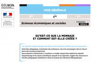 L'éducation nationale française parle du Bitcoin 101