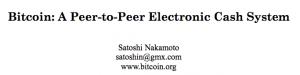 Livre blanc du Bitcoin