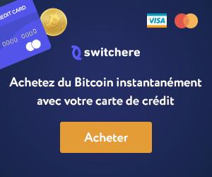 Switchere garantit les achats de bitcoins les plus rapides et les moins chers 101