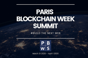 Photo: Paris Blockchain Week Summit