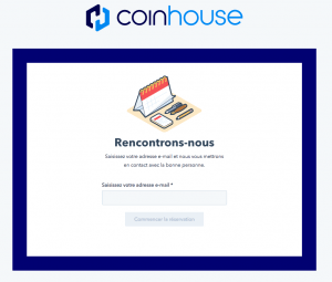 Photo: Coinhouse (capture d'écran)