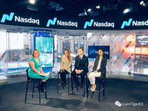 Interviewed by Nasdaq, CoinTiger's Official Exposure to Investors 102