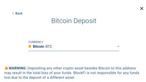 Comment ouvrir un compte sur BlockFi et faire fructifier ses bitcoins 106