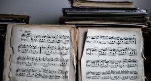 Partition de Musique - Crédit Fanny Renaud