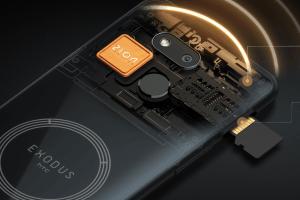 گوشی هوشمند HTC مدل Exodus 1s با امکان استخراج مونرو... 101