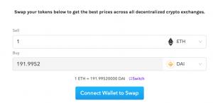 Le plugin Cryptocurrency Exchange intégré à un blog