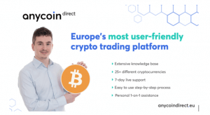 Anycoin Direct launches innovative new platform 102