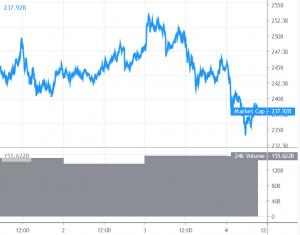 Correction du prix du Bitcoin et des altcoins 101