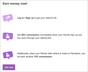 Join the Remitano Affiliate Program - Earn 40% LIFETIME Commissions on All Referrals 102