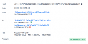 Someone Just Moved 50 Bitcoins, Prompting Speculations It's Satoshi Nakamoto 102