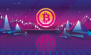 bitcoin dark neon
