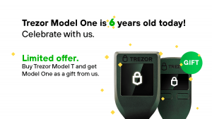 Buy Trezor Model T Today and Get Trezor One For Free 101