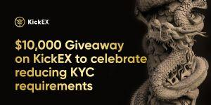 KickEX gives away ,000 to celebrate the reduction of KYC requirements 101