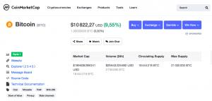 Bitcoin au-dessus des 10 000 dollars
